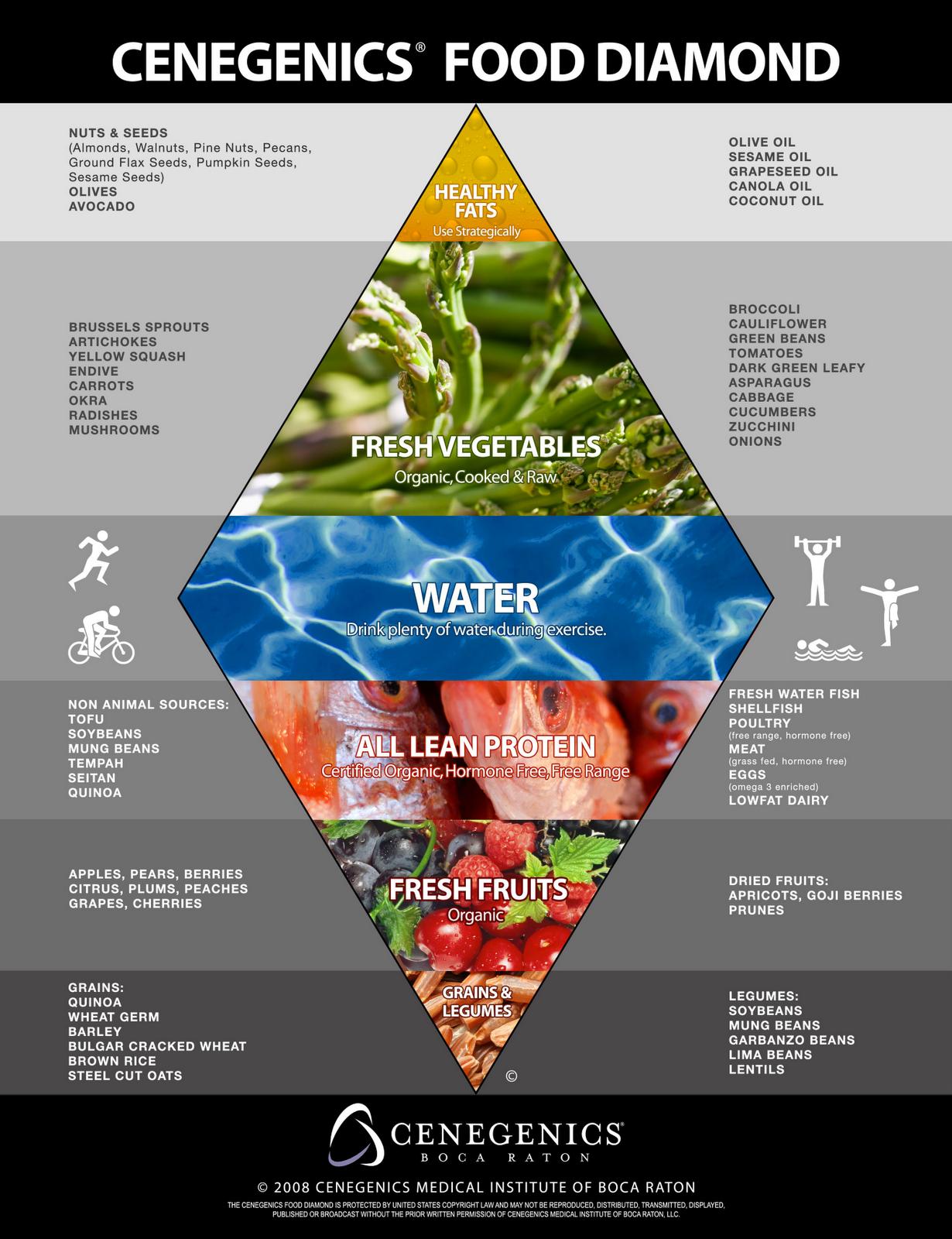 Cenegenics_Food Diamond